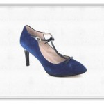 Combina tus zapatos azules a la moda