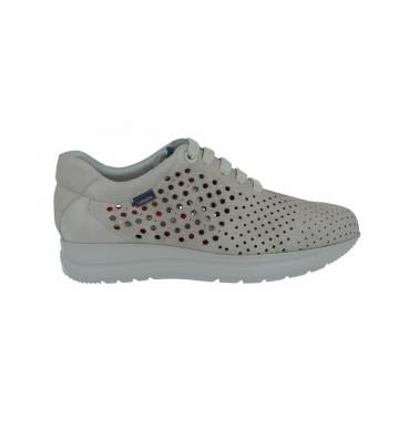 Zapatos Casual con Cordones para Mujer de Callaghan 40711 Nego