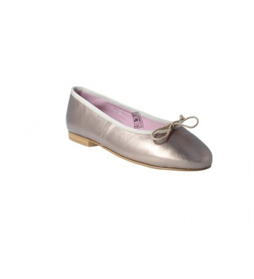 Callaghan 25000 Zapatos Bailarinas Casual Mujer Oro