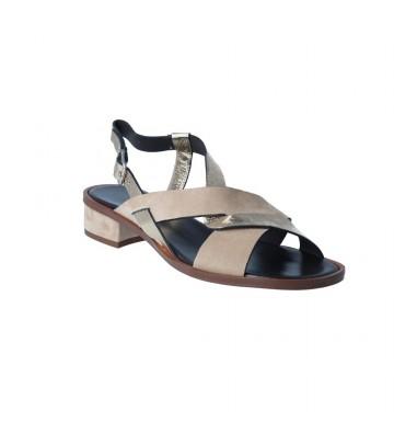 Sandalias Casual con Tacón para Mujer de Plumers 3185