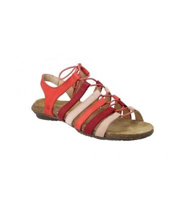 Sandalias Planas con Cordón para Mujer de El Naturalista N5069 Wakataua