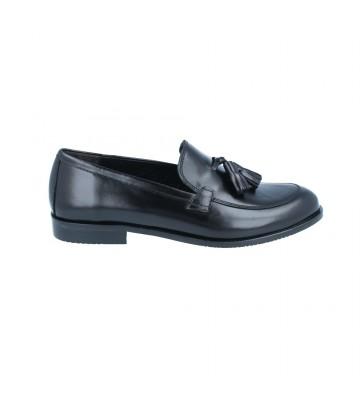 Calzados Vesga Zapatos Mocasines Mujer de Luis Gonzalo 5133M Color Negro Foto 1