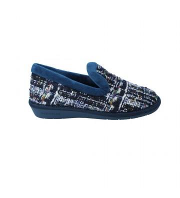 Zapatillas de Casa para Mujer de Nordikas Top Line Sra 304 Tricot
