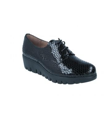 Zapatos Blucher con Cordones para Mujer de Wonders C-33136