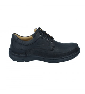 Clarks Nature Three Zapatos Casual Hombre Negro
