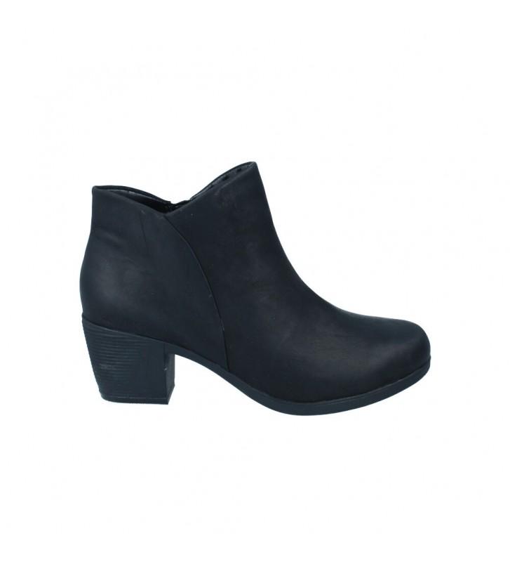 Calzados Vesga Botines Tacón Mujer de Clarks Un Lindel Zip Color Negro Foto 1