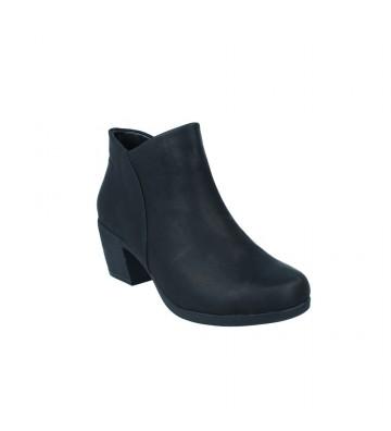 Calzados Vesga Botines Tacón Mujer de Clarks Un Lindel Zip Color Negro Foto 2