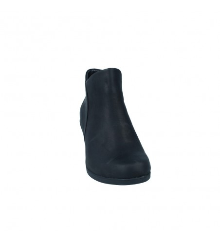Calzados Vesga Botines Tacón Mujer de Clarks Un Lindel Zip Color Negro Foto 3