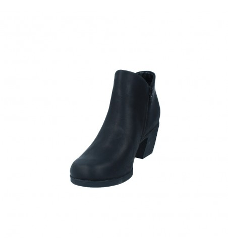 Calzados Vesga Botines Tacón Mujer de Clarks Un Lindel Zip Color Negro Foto 4