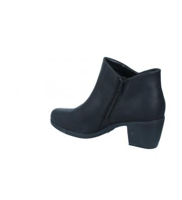 Calzados Vesga Botines Tacón Mujer de Clarks Un Lindel Zip Color Negro Foto 6