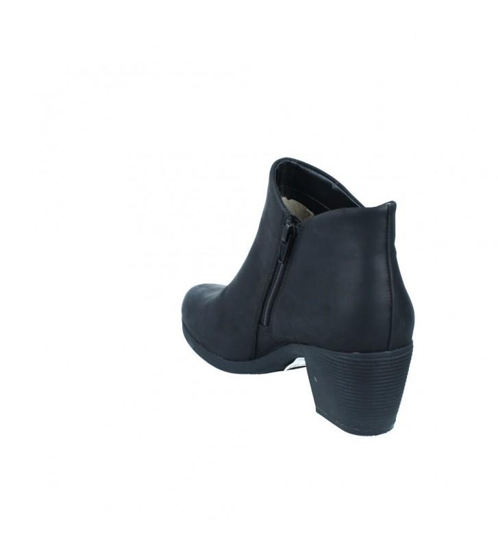 Calzados Vesga Botines Tacón Mujer de Clarks Un Lindel Zip Color Negro Foto 7