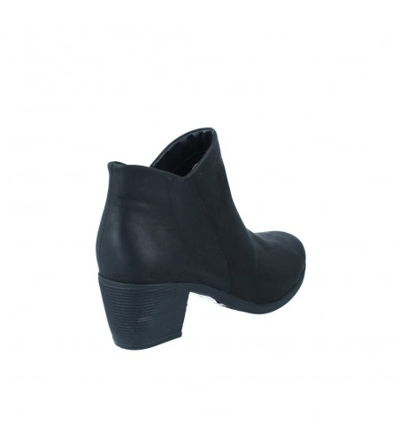 Calzados Vesga Botines Tacón Mujer de Clarks Un Lindel Zip Color Negro Foto 9