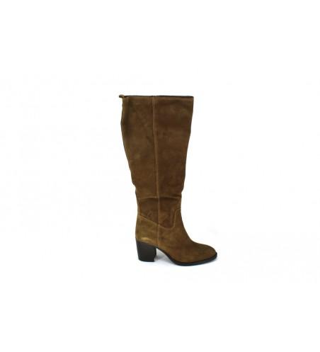 Botas Gauchas con Tacón y Cremallera para Mujer de Lol Shoes 6723