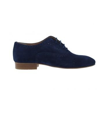 Blucher Schuhe mit Spitze...