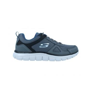 Skechers Track-Scloric 52631 Sneakers Zapatillas Deportivas de Hombre Color Gris Foto 1