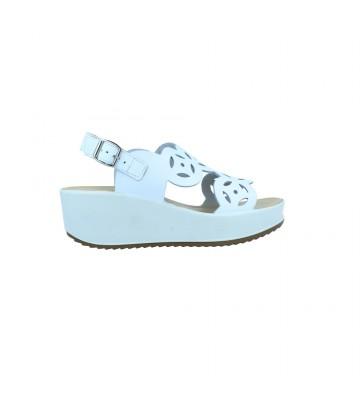 Calzados Vesga Sandalias Casual con Cuña y Plataforma Mujer de Igi&Co 71645 Color Blanco Foto 1