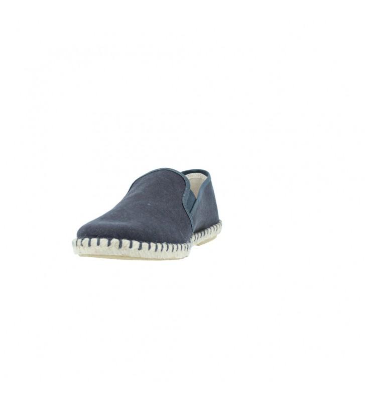 Calzados Vesga Alpargatas de Esparto Casual para Hombres de Verbenas Tom Color Antracita Foto 4