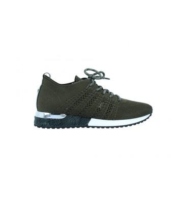 Calzados Vesga Zapatillas Deportivas de Moda para Mujer de La Strada 1802649 Color Caqui Foto 1