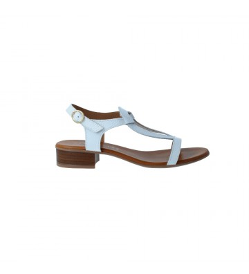 Heeled Flat Sandals for...