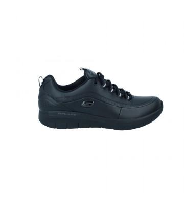 Calzados Vesga Zapatillas Deportivas Sneakers Mujer Skechers 12363 Synergy 2.0 Color Negro Foto 1