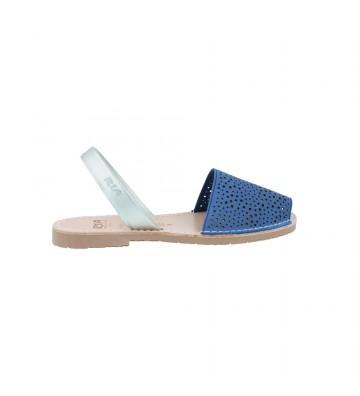 Calzados Vesga Sandalias Abarcas Menorquinas Mujer Ria 27800-2-S2 Color Nobuck Egeo Foto 1