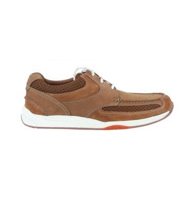 Calzados Vesga Zapatos Naúticos Casual Hombre de Clarks Langton Lane Color Nobuck Cuero Foto 1