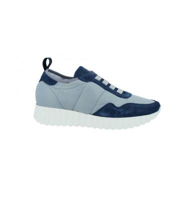 Calzados VesgaZapatillas Deportivas Sneakers Mujer de Weekend 15040 Color Azul Foto 1