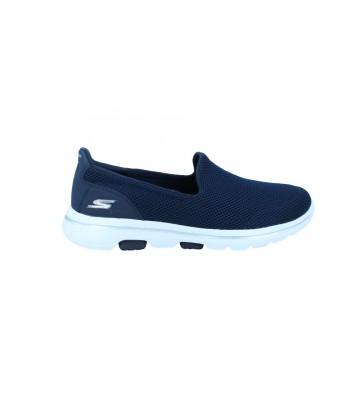 Zapatillas Deportivas para Mujer de Skechers 15901 Go Walk 5 - Calzados Vesga Color Marino Foto 1