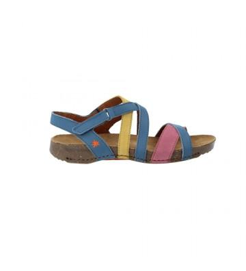 Calzados Vesga Sandalias Planas Mujer de Art Company 1116 I Breathe Color Azul Foto 1