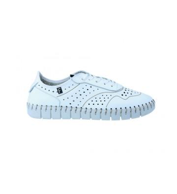 Calzados Vesga Zapatillas Deportivas Sneakers Mujer de Fabiolas 32303 Color Blanco Foto 1