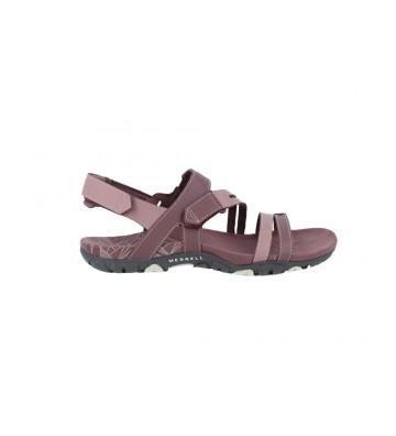 Calzados Vesga Sandalias Planas Deportivas Mujer de Merrell Sandspur Rose Convert J002688 Color Rosas Foto 1