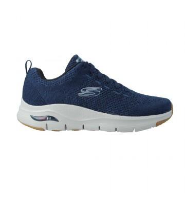 Zapatillas Deportivas Sneakers Hombre Skechers Arch Fit 232041 Calzados Vesga Color Marino Foto 1