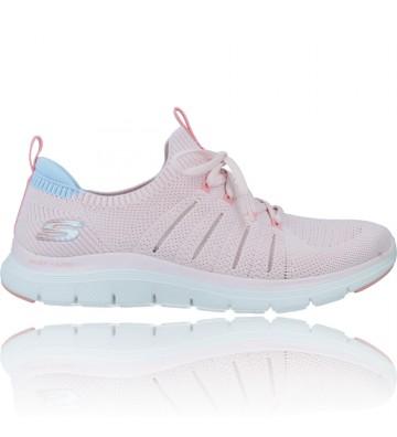 Zapatillas Deportivas Mujer de Skechers 149306 Flex Appeal 4.0 - CalzadosVesga color rosa foto 1