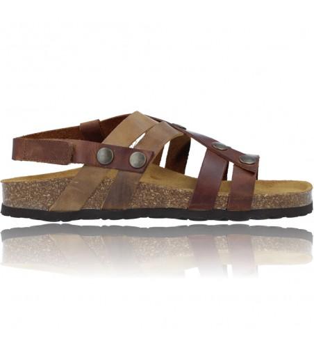 Bio Woman Flat Sandals by Okios Nido-013 - CalzadosVesga