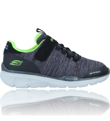 Calzados Vesga Zapatillas Deportivas Sneakers para Niños de Skechers 97925 Equalizer 3.0 Waterproof color negro foto 1