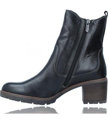 Calzados Vesga Botines Casual con Tacón para Mujer de Pikolinos Llanes W7H-8948 color negro foto 5
