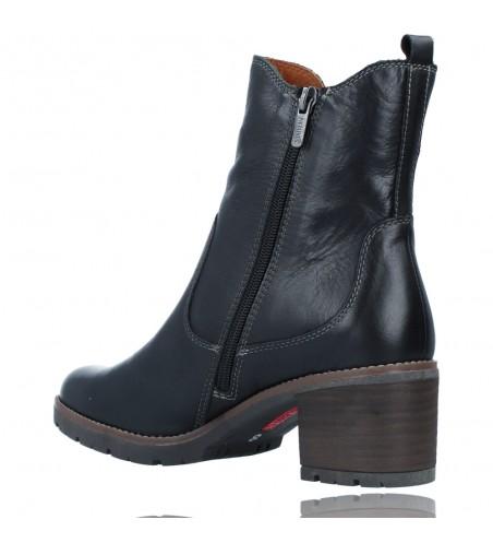 Calzados Vesga Botines Casual con Tacón para Mujer de Pikolinos Llanes W7H-8948 color negro foto 6