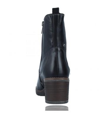 Calzados Vesga Botines Casual con Tacón para Mujer de Pikolinos Llanes W7H-8948 color negro foto 7