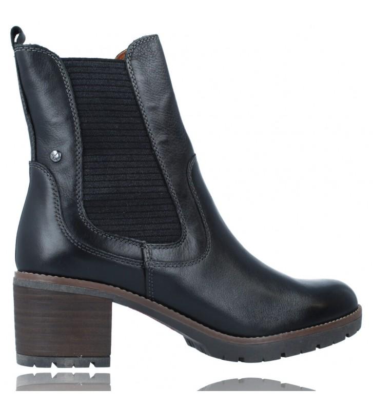 Calzados Vesga Botines Casual con Tacón para Mujer de Pikolinos Llanes W7H-8948 color negro foto 9