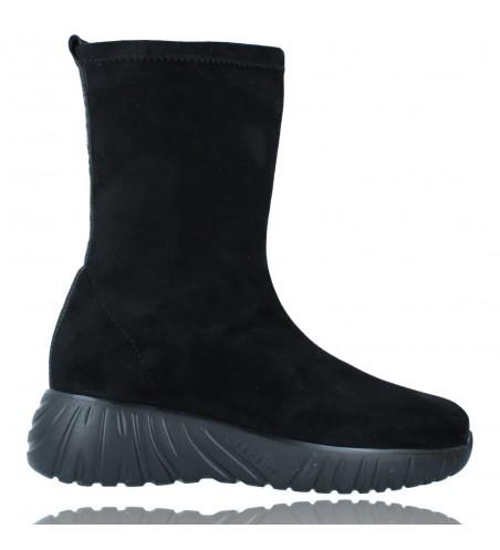 Calzados Vesga Zapatillas Deportivas Botines para Mujer de Weekend 27053 Bled color negro foto 1