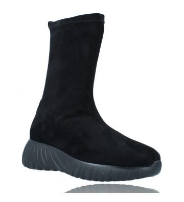 Calzados Vesga Zapatillas Deportivas Botines para Mujer de Weekend 27053 Bled color negro foto 2