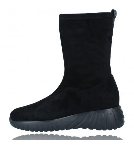 Calzados Vesga Zapatillas Deportivas Botines para Mujer de Weekend 27053 Bled color negro foto 5