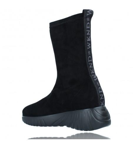 Calzados Vesga Zapatillas Deportivas Botines para Mujer de Weekend 27053 Bled color negro foto 6