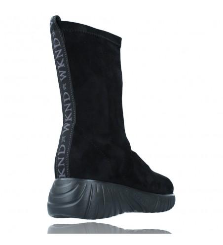 Calzados Vesga Zapatillas Deportivas Botines para Mujer de Weekend 27053 Bled color negro foto 8