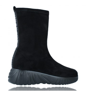 Calzados Vesga Zapatillas Deportivas Botines para Mujer de Weekend 27053 Bled color negro foto 9