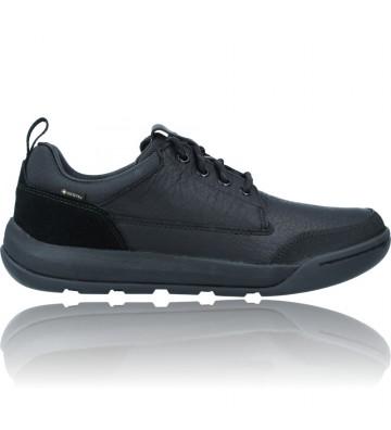 Zapatos de piel Gore-Tex...