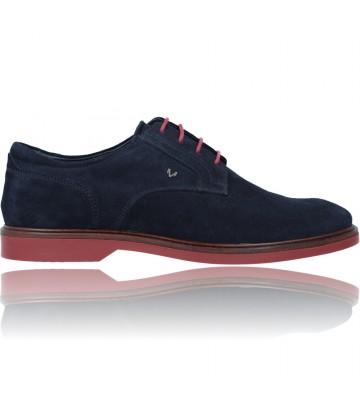 Calzados Vesga Zapatos Blucher de Piel para Hombre de Martinelli Lenny 1384-1698X color azul foto 1