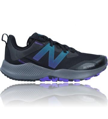 Calzados Vesga Zapatillas Deportivas de Trail para Mujer de New Balance DynaSoft Nitrel V4 WTNTRMB4 color negro foto 1