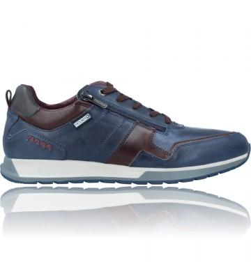 Calzados Vesga Zapatos Deportivos de Piel para Hombre de Pikolinos Cambil M5N-6010C1 color azul foto 1