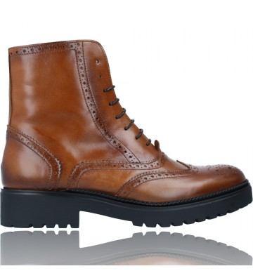 Oxford Ankle Boots with...